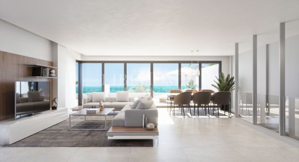 New apartments with sea views near Estepona city center