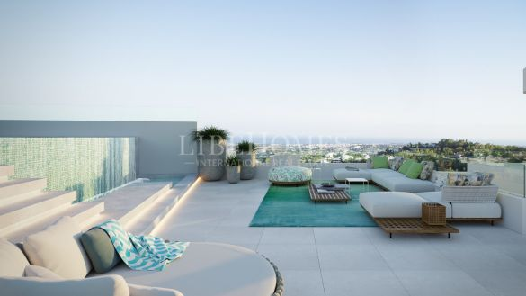 Newly built penthouses, Altos de La Quinta, Benahavis