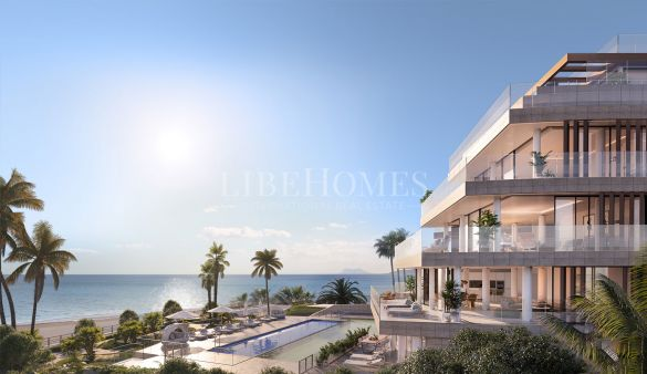 Luxury, beachfront apartment development in Guadalobon, Estepona