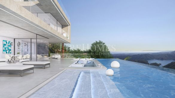 Turnkey villa with 180º sea views in Istan, near Marbella