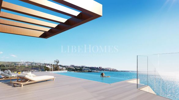 Luxury penthouse, new beach frontline development, Estepona