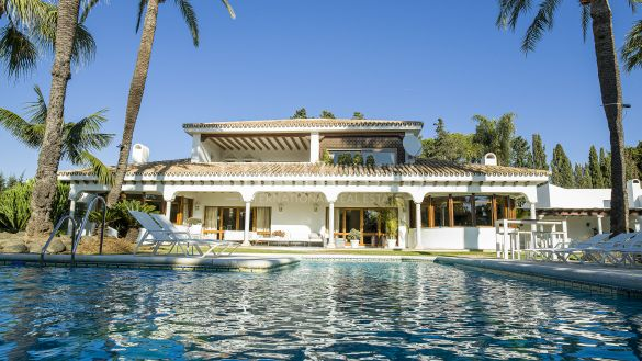 Traditional Andalusian villa in Guadalmina Baja, Marbella