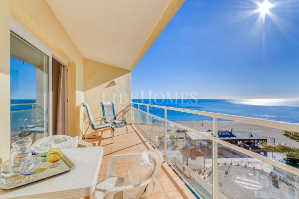 Beachfront apartment on La Carihuela promenade, Torremolinos