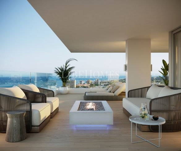 Brand new, luxury beachfront apartments for sale in Malaga city