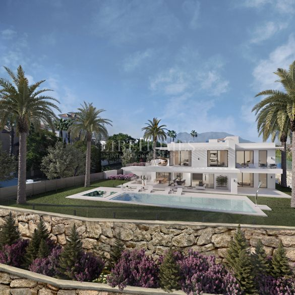 New villa for sale in exclusive golf resort Los Flamingos, Benahavis