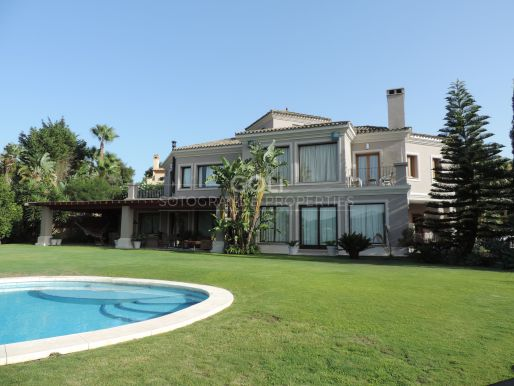 Spacious villa with views
