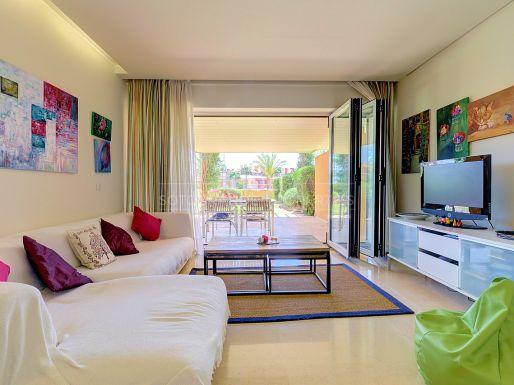 Ground floor apartment in Ribera del Marlin