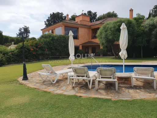 A large property situated in Upper Sotogrande