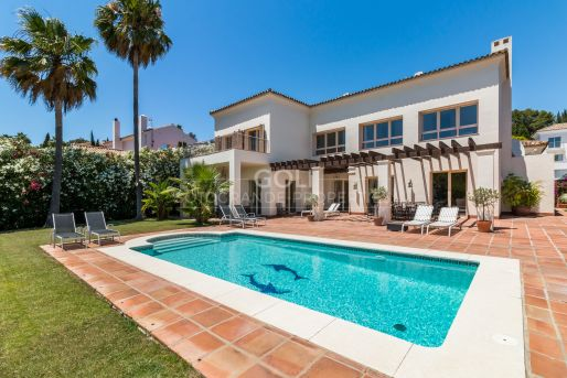 Villa with great views to the Golf Course
