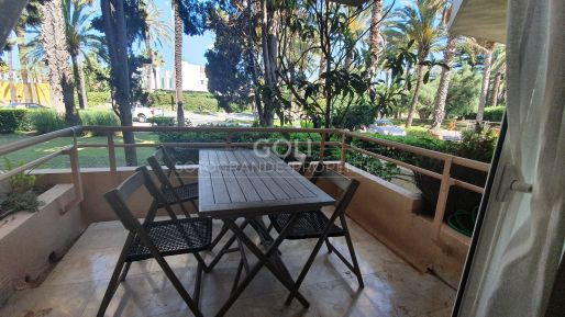 Well situated apartment, close to the beach