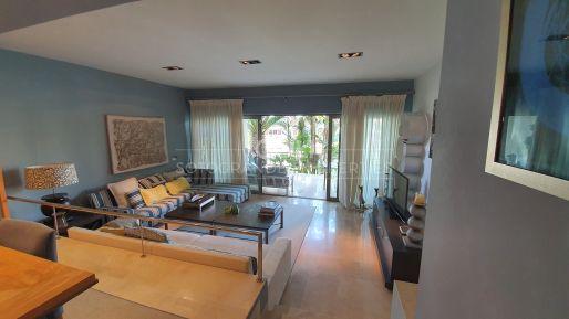 Magnificent Duplex ground floor apartment