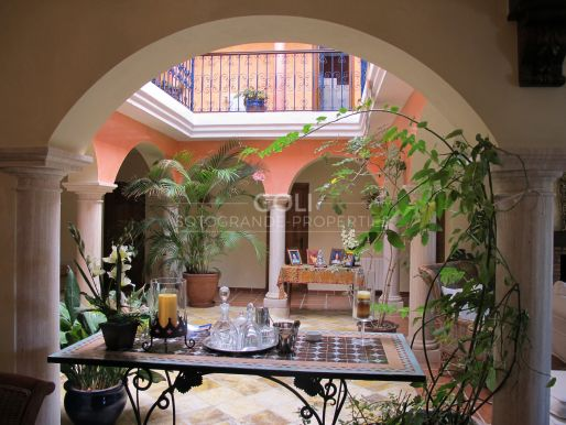 Villa with the typical style of southern Spain in Sotogrande