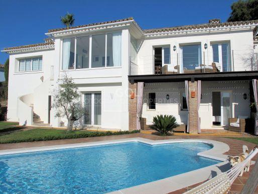 Villa with fabulous views