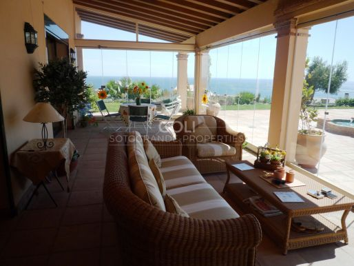 Andalusian style villa with sea views