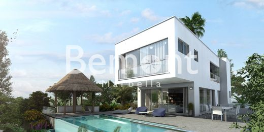 Brand new 3 bedroom villa for sale in Mijas Costa, Marbella East