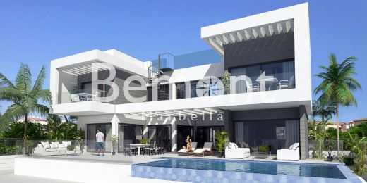 Superb off-plan villa for sale in Mijas Costa, Marbella East