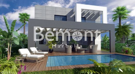 Fantastic off-plan villa for sale in Lower Calahonda, Marbella East
