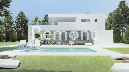 Modern off plan villa for sale in Mijas Golf, Marbella East