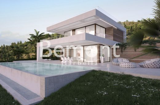 Frontline golf off plan villa for sale in Estepona, Marbella West