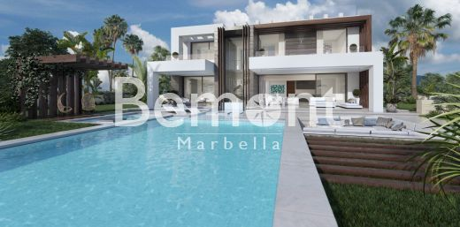 Contemporary 4 bedroom villa in Estepona, Costa del Sol.