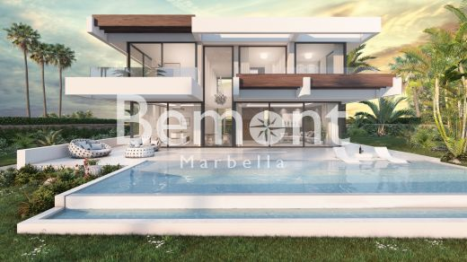 Beachside 4 bedroom off plan villa for sale in San Pedro de Alcántara, Marbella West