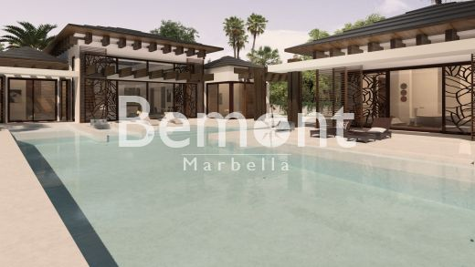 Modern Thai off-plan villa for sale in Marbella West, Spain