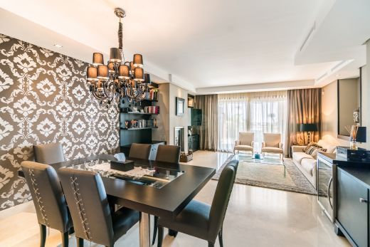 Beachside groundfloor apartment for sale in Marbella, Spain