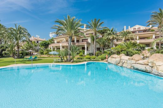 3 Bedroom beachside and golf apartment for sale in Marbella East, Spain