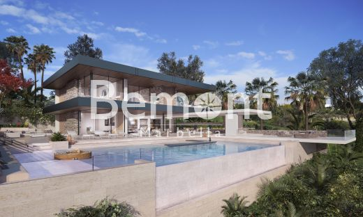 Luxury contemporary off-plan villa with sea views for sale in Marbella West