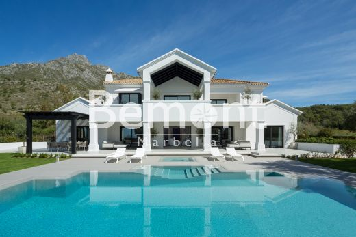 Exclusive modern villa for sale in Marbella Golden Mile, Spain