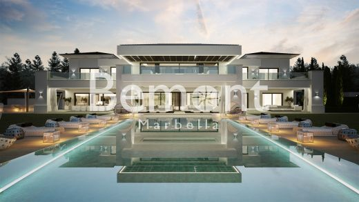 Luxury brand new villa for sale in Sotogrande, Costa del Sol, Spain.