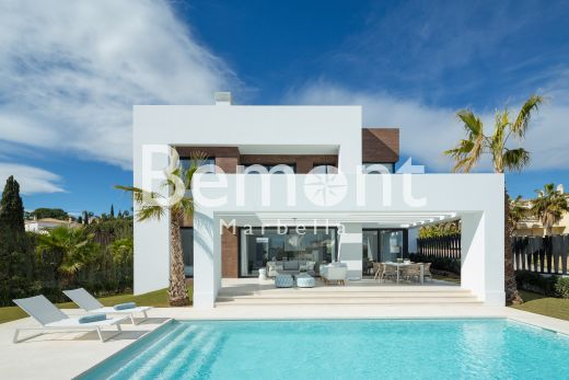 Luxury contemporary villa for sale in Marbella West, Spain