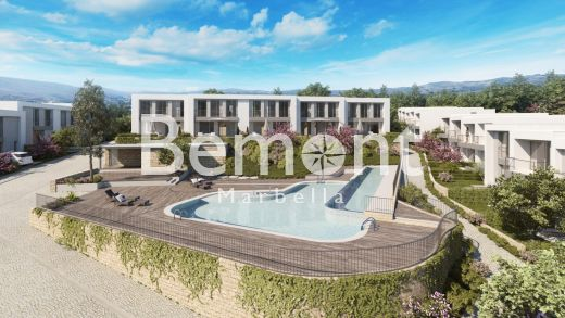 Modern golf townhouse for sale in East Marbella, Spain