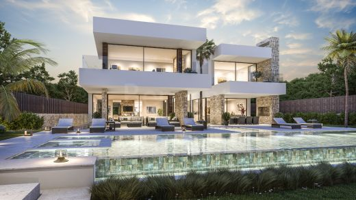 Modern luxury 7 bedroom villa for sale in Marbella West, Spain