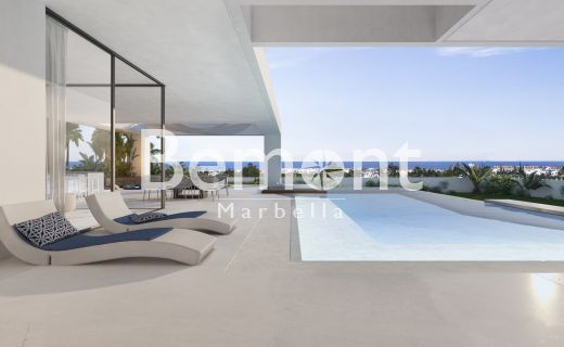 Luxury off plan villa with stunning sea views for sale in Marbella West