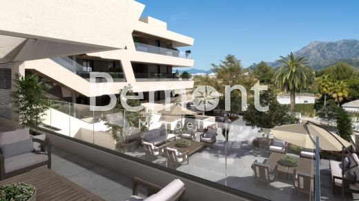 Modern golf groundfloor apartment for sale in Marbella East, Costa del Sol