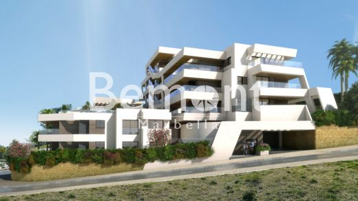Modern beachside and golf apartment for sale in Marbella East, Costa del Sol