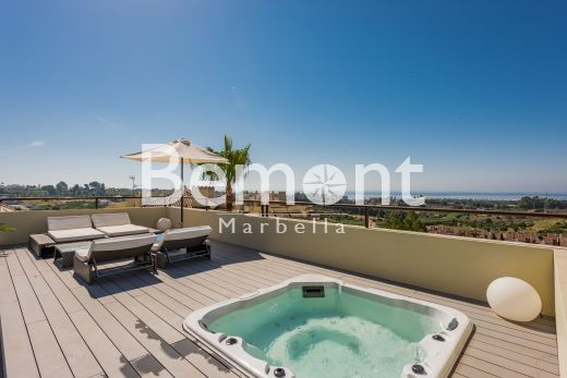 3 bedroom duplex penthouse with sea views for sale in Marbella West, Spain