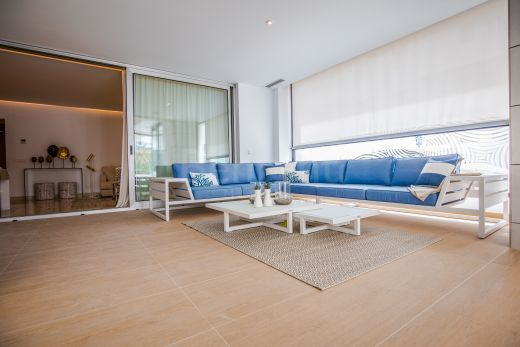 Contemporary beachside apartment for sale in Puerto Banus, Marbella