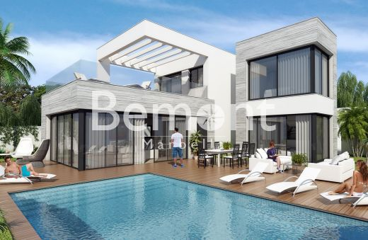 Modern off-plan villa for sale in La Cala de Mijas, Marbella East
