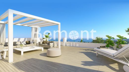 Contemporary brand new penthouse apartment for sale in Marbella West, Spain