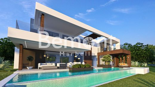 Contemporary brand new villa for sale in Marbella West