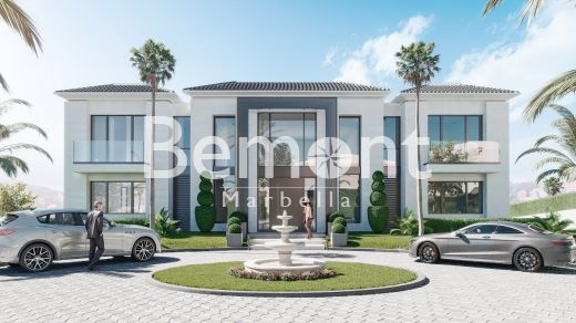 Exclusive off-plan frontline golf villa for sale in Marbella West