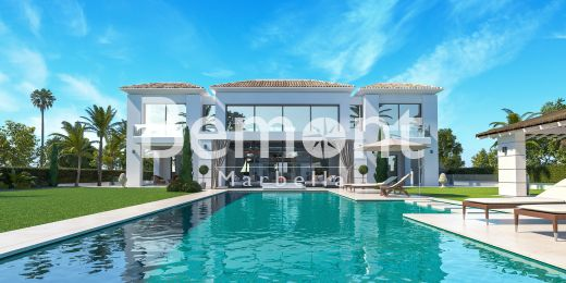 Luxury beachside villa for sale in Guadalmina Baja, San Pedro de Alcantara