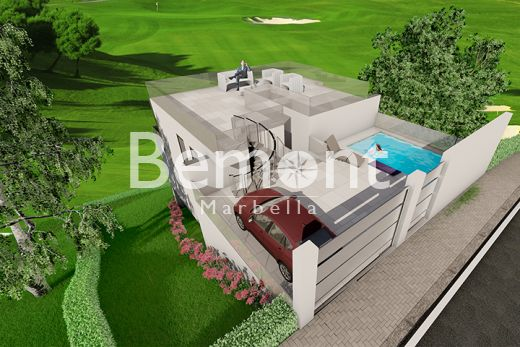 Modern frontline golf off plan villa for sale in La Cala Golf, Mijas, Marbella East