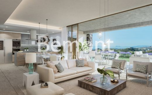 Luxury golf penthouse for sale in Marbella West