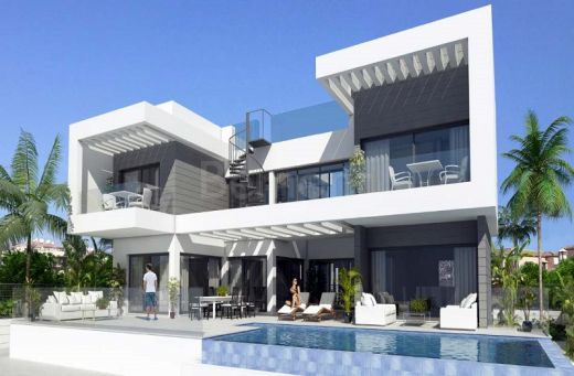 New build villa for sale in La Cala de Mijas, Marbella East