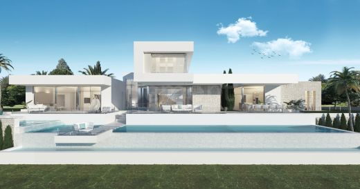 Contemporary 4 bedroom new build villa in La Cala Golf, Marbella East