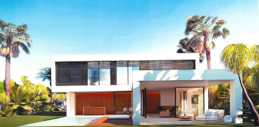 Contemporary new build villa for sale in Elviria, Marbella East