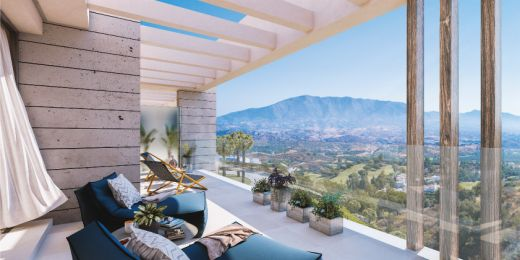 3 bedroom contemporary penthouse in La Cala Golf, Marbella East